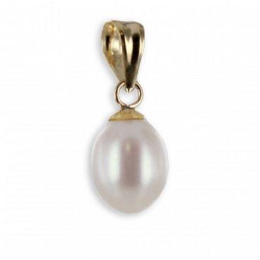 ASS 375 Gold  Anhänger Perlenanhänger Perlen Anhänger Kettenanhänger,15mm