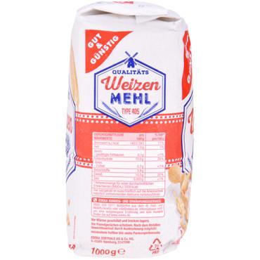 Gut & Günstig Weizenmehl 1000g – Bild 3