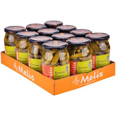 Melis Cornichons in Salzlake 350g – Bild 2