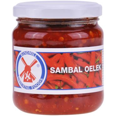 Windwill Oriental Foods Sambal Oelek Chillipaste 200g – Bild 1
