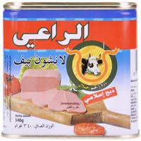 AL-RAII Luncheon Meat Beef halal 340g