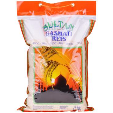 Sultan Basmati Reis 5000g – Bild 1