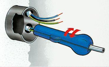 Pro   Abmantelwerkzeug blau – Bild 4