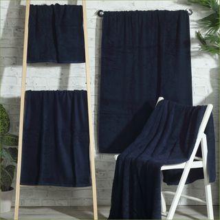 Handtuch -Serie RESIDENZ Stars, 500 g/m², Saunatuch 80x200 cm, nachtblau