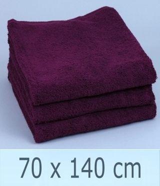 Handtuch -Serie RESIDENZ Stars, 500 g/m², Duschtuch 70x140 cm, brombeer