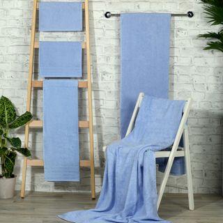 Handtuch -Serie RESIDENZ Standard, 400 g/m², Duschtuch 70x140 cm, bleu