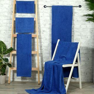 Handtuch -Serie RESIDENZ Standard, 400 g/m², Saunatuch / Strandtuch 90x190 cm, royal