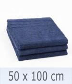 Handtuch -Serie RESIDENZ Promotion, 450 g/m², Handtuch 50x100 cm, marine