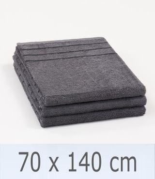 Handtuch -Serie RESIDENZ Promotion, 450 g/m², Duschtuch 70x140 cm, anthrazit