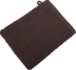 Handtuch -Serie RESIDENZ Standard, 400 g/m², Waschhandschuh 16x21 cm, schokobraun