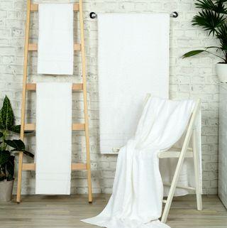 Handtuch -Serie RESIDENZ Comfort PLUS, 450 g/m², Saunatuch 70x200 cm, weiß