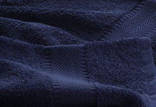 Handtuch -Serie RESIDENZ Promotion, 450 g/m², 5er Set Handtuch 50x100 cm, marine