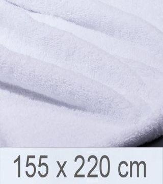 Strandtuch / Fangotuch -Serie RESIDENZ Beach 400 g/m², Strandtuch / Fangotuch 155x220 cm, weiß