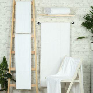 Handtuch -Serie RESIDENZ Deluxe Plus, 630 g/m², Handtuch 50x100 cm, weiß