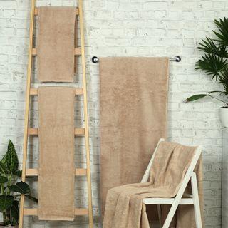 Handtuch -Serie RESIDENZ Deluxe Plus, 630 g/m², Saunatuch 100x180 cm, sand