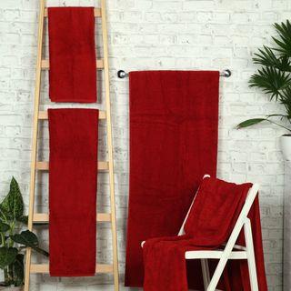 Handtuch -Serie RESIDENZ Deluxe Plus, 630 g/m², Saunatuch 90x220 cm, bordeaux