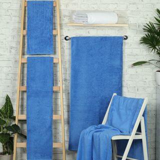 Handtuch -Serie RESIDENZ Deluxe Plus, 630 g/m², Handtuch 50x100 cm, wasserblau