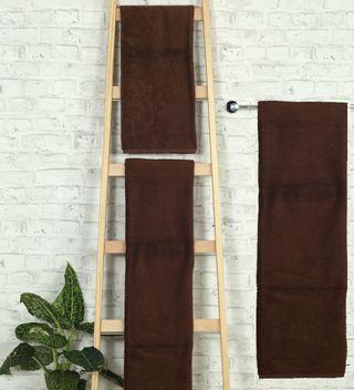 Handtuch -Serie RESIDENZ Deluxe Plus, 630 g/m², Duschtuch 70x140 cm, mustangbraun