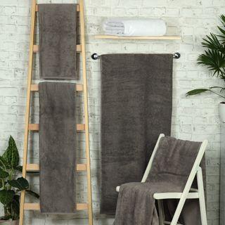 Handtuch -Serie RESIDENZ Deluxe Plus, 630 g/m², Handtuch 50x100 cm, elefantengrau