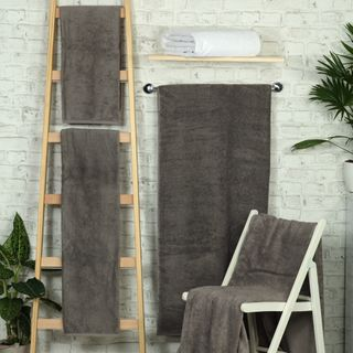 Handtuch -Serie RESIDENZ Deluxe Plus, 630 g/m², Saunatuch 90x220 cm, elefantengrau