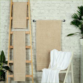 Handtuch -Serie RESIDENZ Comfort PLUS, 450 g/m², Saunatuch 70x200 cm, sand