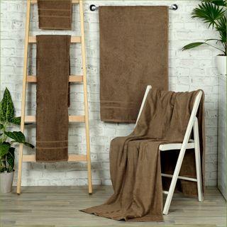 Handtuch -Serie RESIDENZ Comfort PLUS, 450 g/m², Saunatuch 70x200 cm, walnuss