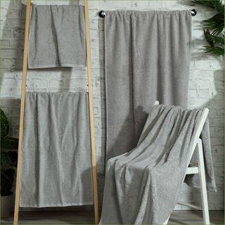 Handtuch -Serie RESIDENZ Stars, 500 g/m², Handtuch 50x100 cm, mittelgrau