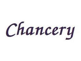 Namenszug Schrift CHANCERY, 30 mm (bis 21 Buchstaben)