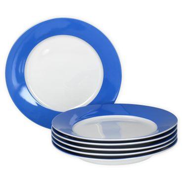 Van Well 6er Set Frühstücksteller Serie Vario Porzellan - Farbe wählbar – Bild 2