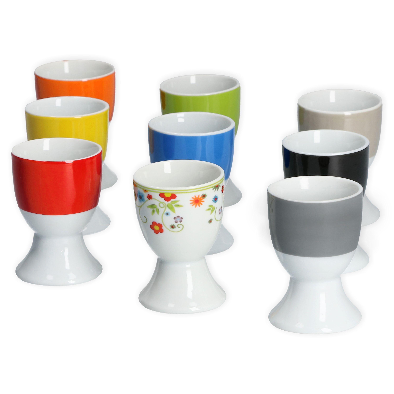 van well 6er set eierbecher serie vario porzellan farbe w hlbar porzellan. Black Bedroom Furniture Sets. Home Design Ideas