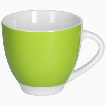 Van Well Kaffeeservice 18-tlg. für 6 Personen Serie Vario Porzellan - Farbe wählbar – Bild 6