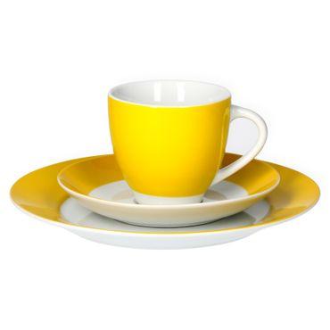 Van Well Kaffeeservice 18-tlg. für 6 Personen Serie Vario Porzellan - Farbe wählbar – Bild 17