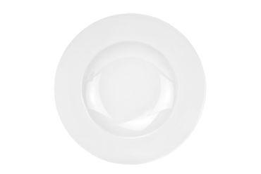 Pastateller Pasta-Bowl Wellco 30cm weiß, rund, porzellan