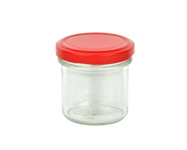 12er Set Sturzglas 167 ml To 66 Erdbeer Deckel incl. Diamant Gelierzauber Rezeptheft – Bild 2