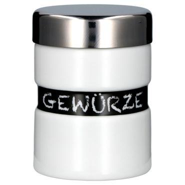 Van Well Porzellan Serie Loft - Verschiedene Vorratsdosen, Aufbewahrungsgefäße, Gewürzbehälter, Leuchter auswählbar – Bild 2