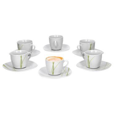 6er Set Espressotasse mit Espressountertasse Bali  – Bild 1