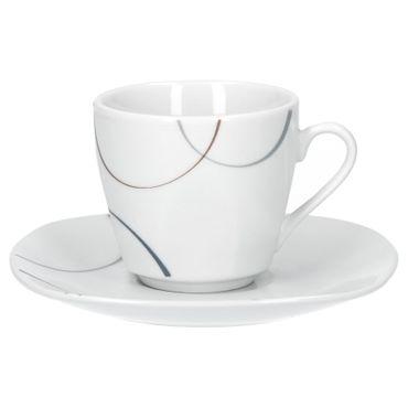 6er Set Espressotasse mit Espressountertasse Salerno – Bild 2