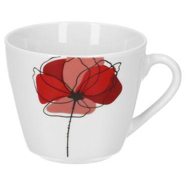 6er Set Kaffeetasse mit Kaffeeuntertasse Monika  – Bild 3