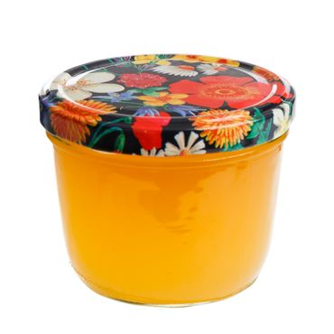 10er Set Sturzglas 230 ml To 82 Blumen Deckel Floare incl. Diamant Gelierzauber Rezeptheft – Bild 4