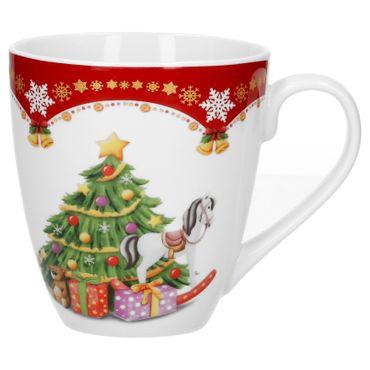 2er Set Kaffeebecher Weihnachtszauber 53cl – Bild 2