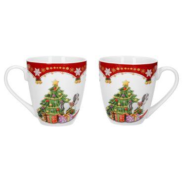 2er Set Kaffeebecher Weihnachtszauber 53cl – Bild 1