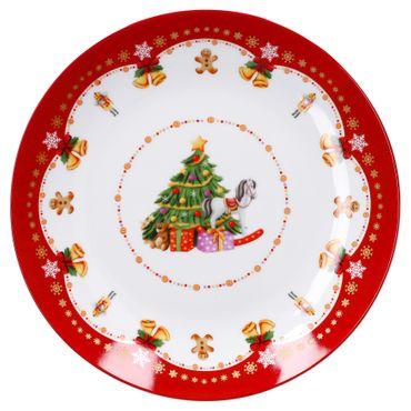 Gebäckteller Weihnachtszauber 26,5cm