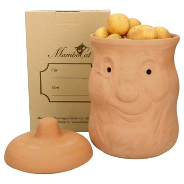 Kartoffeltopf Karl Terrakotta – Bild 5