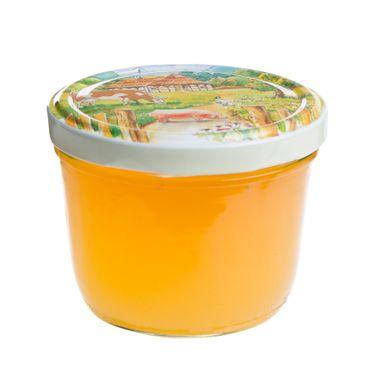 100er Set Sturzglas 230 ml To 82 Deckel Bauernhof / Ferma incl. Diamant Gelierzauber Rezeptheft – Bild 4