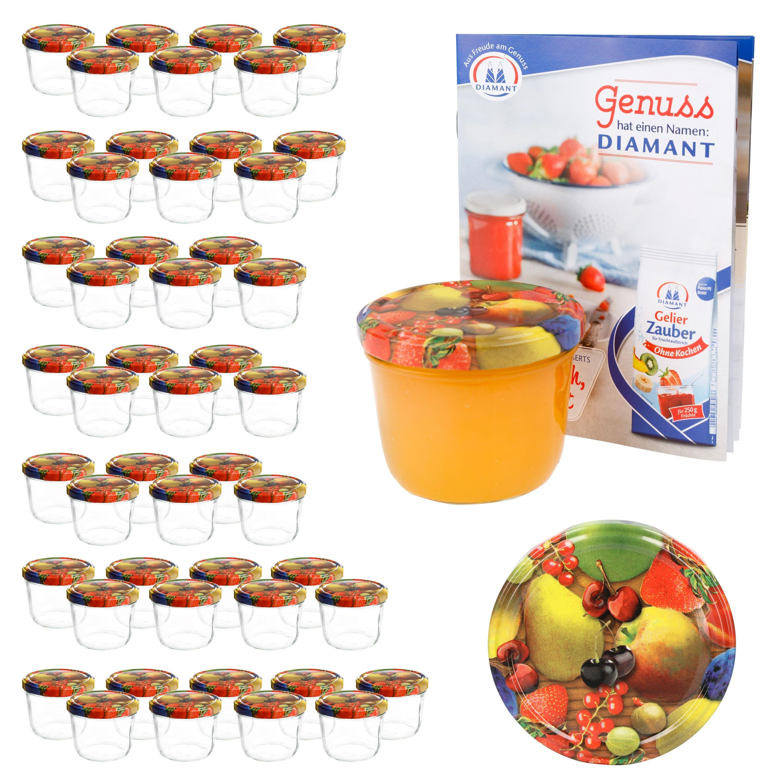 50 sturzgl ser 230 ml obst gelbe birne deckel einmachglas einweckglas marmelade ebay - Marmelade einkochen glaser ...