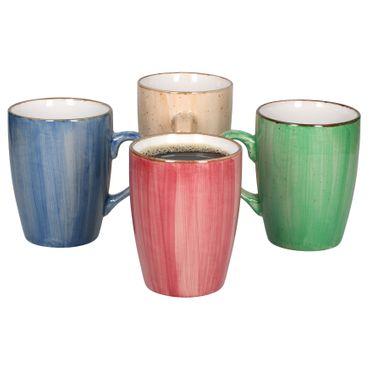 4er Set Tassen Madeira bunt – Bild 1