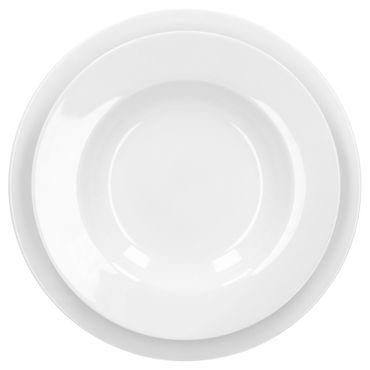 Tafelservice Trend 12tlg. für 6 Personen, 6 Speiseteller 27cm + 6 Suppenteller 23cm – Bild 2