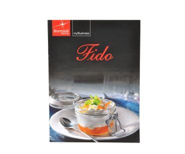 Einmachglas Bügelverschluss Original Fido 1,5L incl. Bormioli Rezeptheft – Bild 3