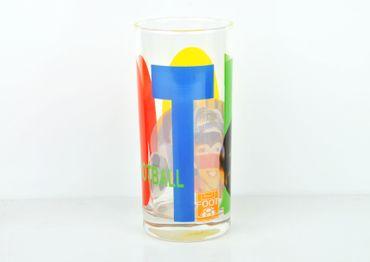 60er Set Wasserglas Face Tatoo – Bild 4