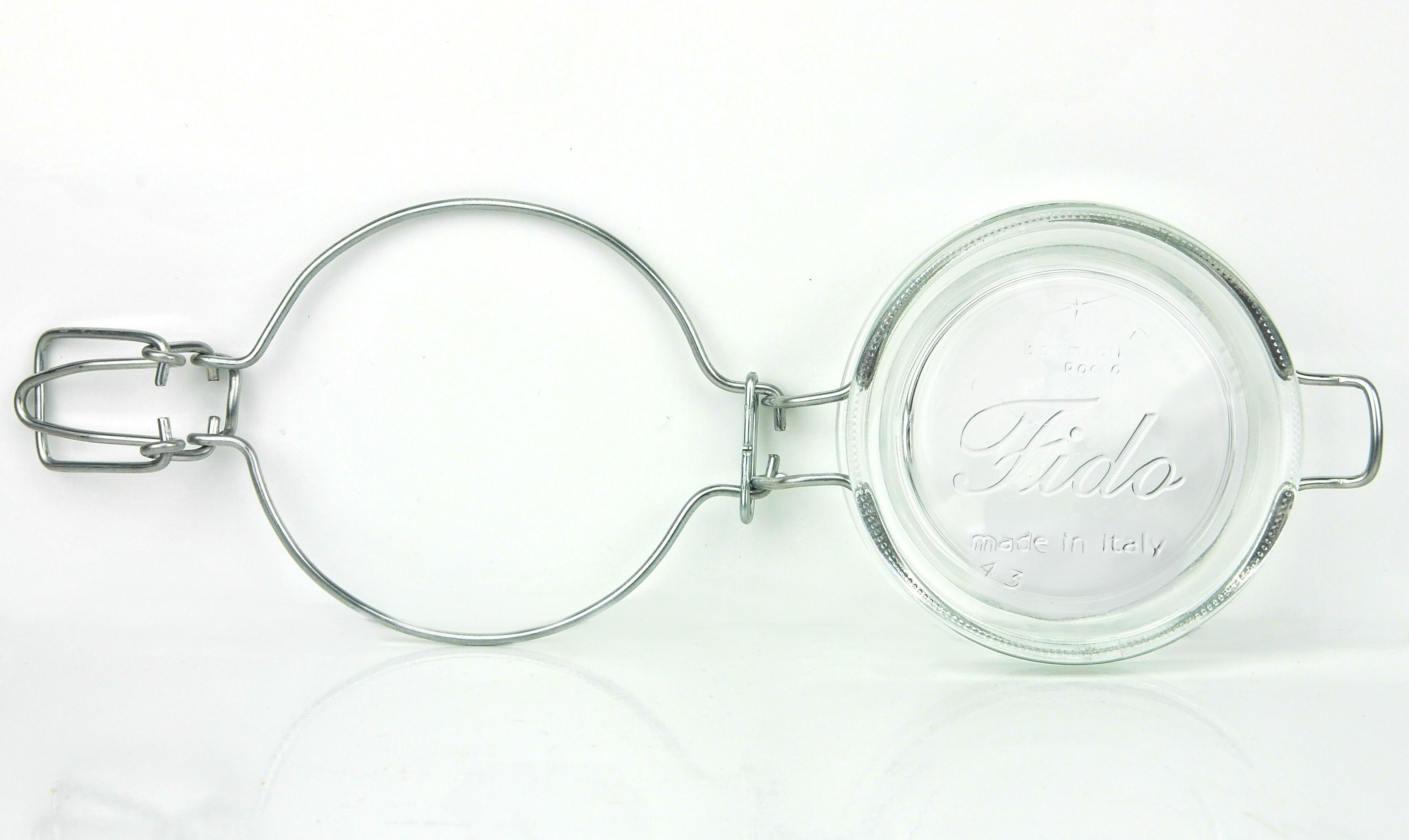 Einmachglas mit Bügelverschluss - Original Bormioli Fido ...